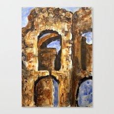 Burned Out Castle #2 Canvas Print