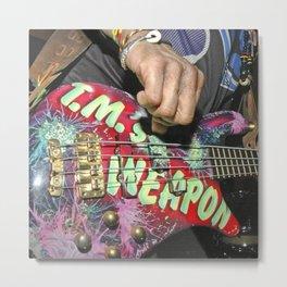 Guitarplayer - Let It Rock Metal Print