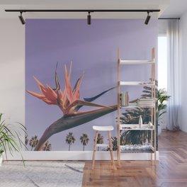 Birds of Paradise Print {2 of 3} | Palm Trees Ocean Summer Beach Magenta Photography Art Wall Mural