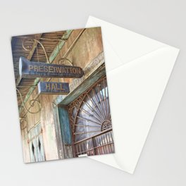 New Orleans Jazz Club Stationery Cards