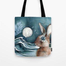 Barnacle Bunny Tote Bag
