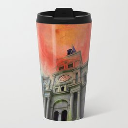 Water Color Cathedral Travel Mug