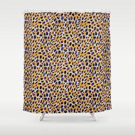 Lucky Leopard Shower Curtain