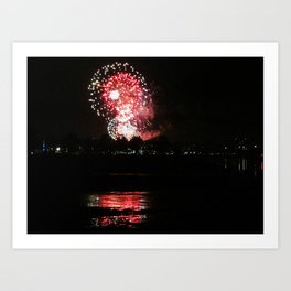 4th of July in Portland, Maine (4) Art Print