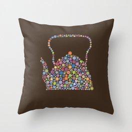 teapot / tetera Throw Pillow