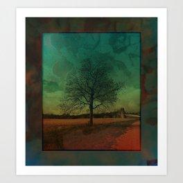 The Surface of Solitude-Effort Art Print