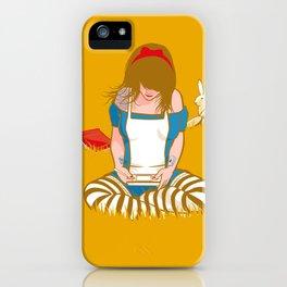 Alice in Mario Land iPhone Case