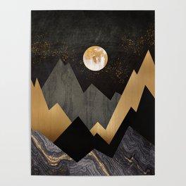 Metallic Night Poster