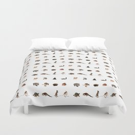 Australian wildlife Duvet Cover