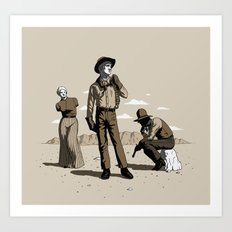 Stone-Cold Western Art Print