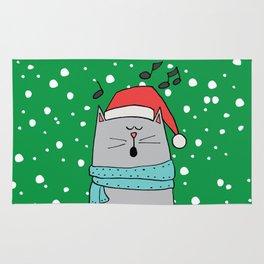 Singing cat Rug