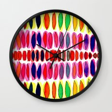 color pods Wall Clock