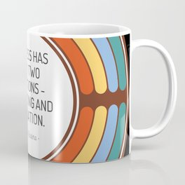 Business has only two functions marketing and innovation Coffee Mug