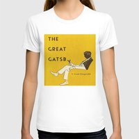 gatsby T-shirts featuring The Great Gatsby by MW. [by Mathius Wilder]