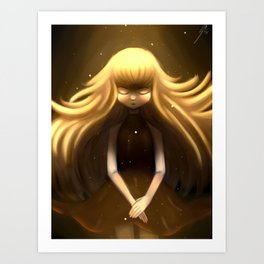 Light Girl Art Print