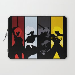 Silhouetted Huntresses Laptop Sleeve