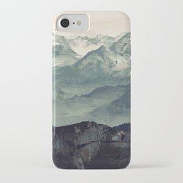 Mountain Fog iPhone Case