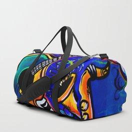 Carnival Jazz Painting Duffle Bag