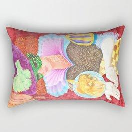 Pez Hembra, Alex Chinea Pena Rectangular Pillow