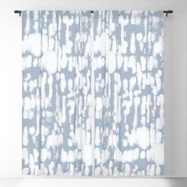 Inky Inverse Slate Blue Blackout Curtain