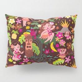 Hula Cuties Pattern Pillow Sham