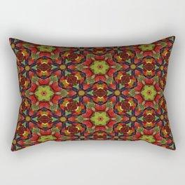 Green and dark blue gummy bears 5197 Rectangular Pillow
