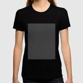 Skull Maze Simple T-shirt