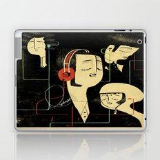 乐 Music Lovers / Vintage Laptop & iPad Skin
