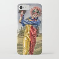 clown iPhone & iPod Cases featuring CLOWN by Steve Zar