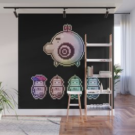 Time Traveling Soulbots Wall Mural