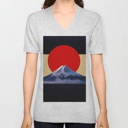 Fujisan Unisex V-Neck