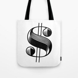 Dollar $ign Tote Bag