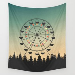 Take a Ride Wall Tapestry