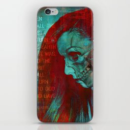 THE GOD WHO GAVE IT (Ecclesiastes 12:7) iPhone Skin