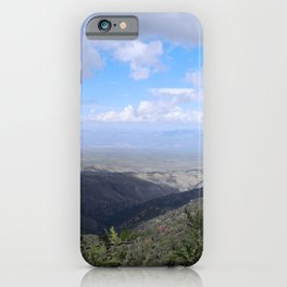 Beautiful View from Mount Lemmon iPhone Case