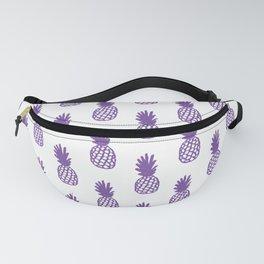Purple Pineapple Fanny Pack