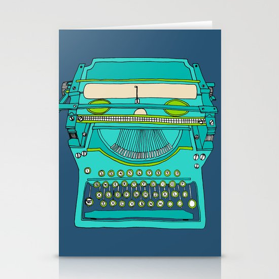 Typewriter Number Five Stationery Cards
