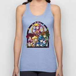 Sailor Moon S (Universe edit.) Unisex Tank Top
