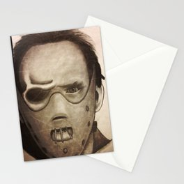 hannibal lector Stationery Cards