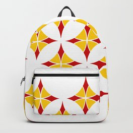 Mosaic flower Backpack