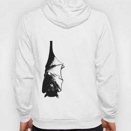 Drawing of Hanging Flying Fox Bat Hoody