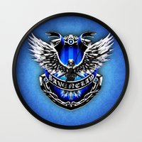 marauders Wall Clocks featuring HARRY POTTER RAVENCLAW by Veylow