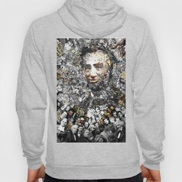 """Rendering Myself Worthy"" Abraham Abe Lincoln. Hoody"