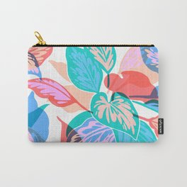 Colorful Pothos Plant Carry-All Pouch