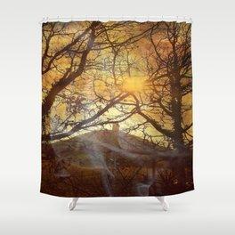 Mystery Tor. Shower Curtain