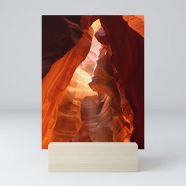 A Canyon Sculptured By Water Mini Art Print