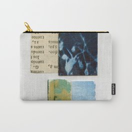 Scraps Of Art Carry-All Pouch