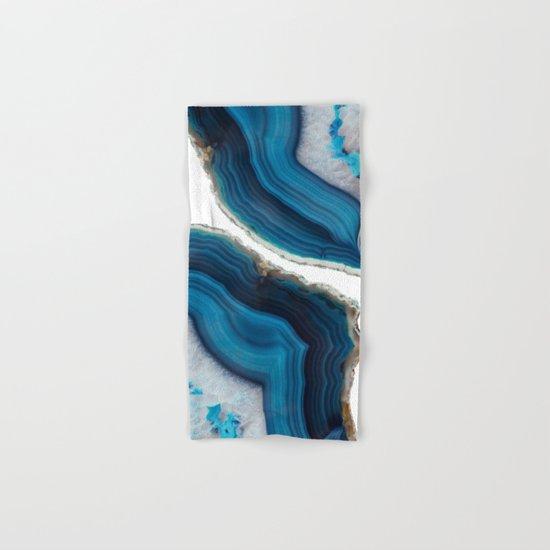 Blue Agate Hand & Bath Towel