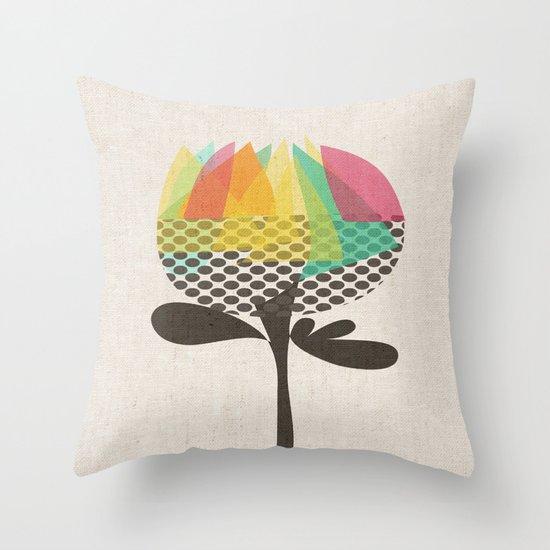 The Artichoke Throw Pillow