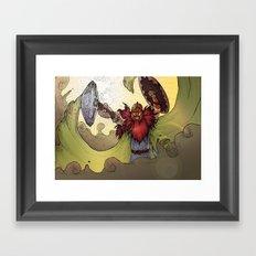 Viking Warrior Framed Art Print